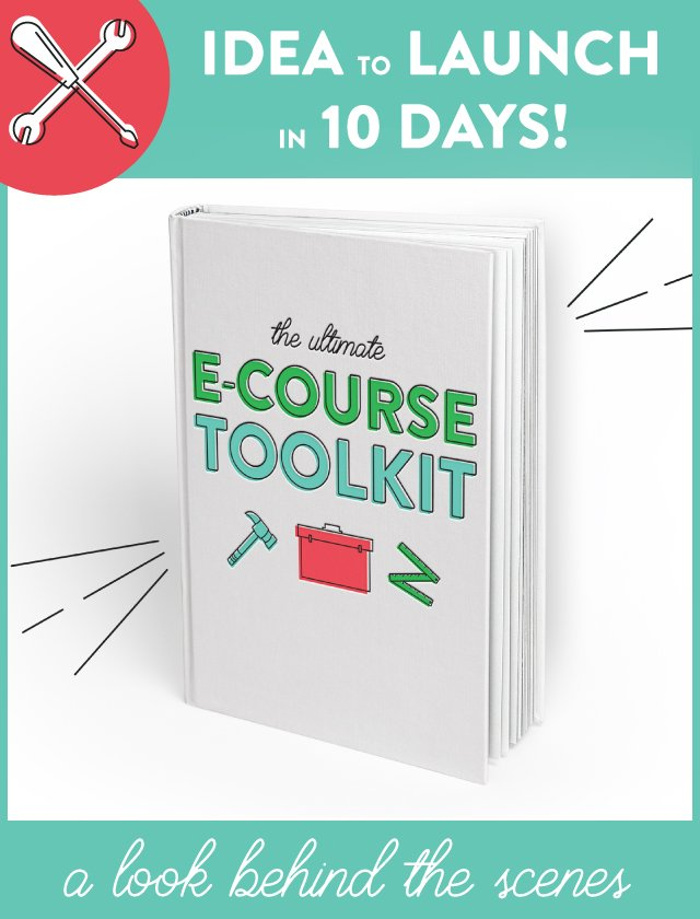 E-course Toolkit!