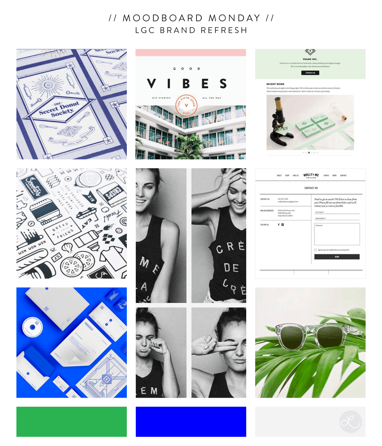 Moodboard Monday: Lindsay Goldner Creative Brand Refresh