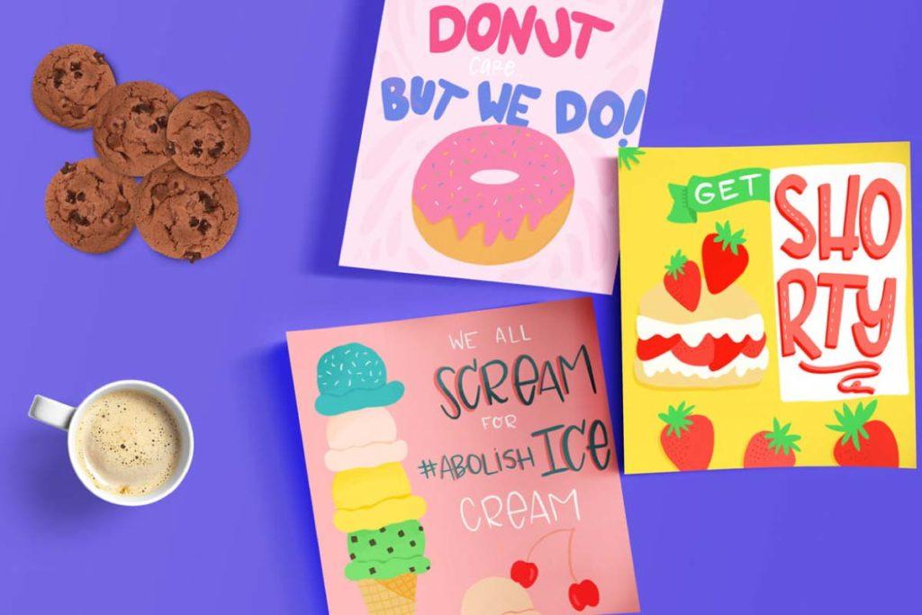 100 Days of Tasty Treats Posts 1  Lindsay Goldner - No Fonts Given Co