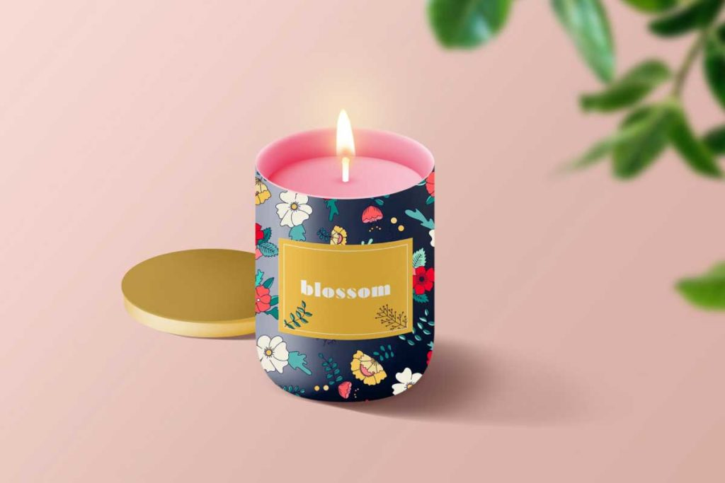 MATS Bootcamp Flower Candle | Lindsay Goldner - No Fonts Given Co