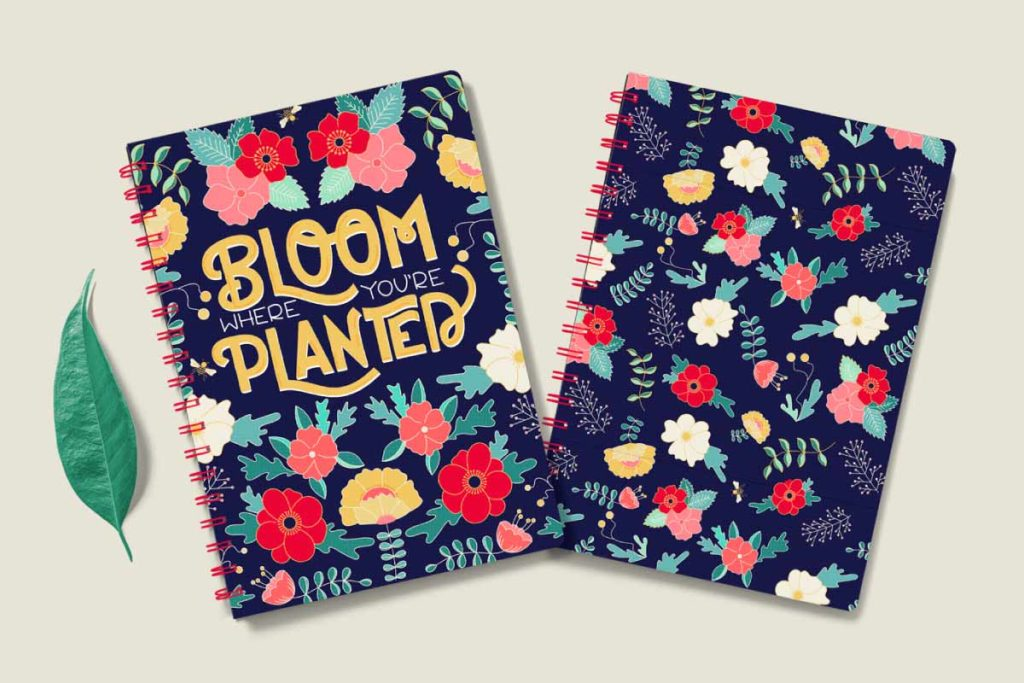 MATS Bootcamp Flower Journal | Lindsay Goldner - No Fonts Given Co