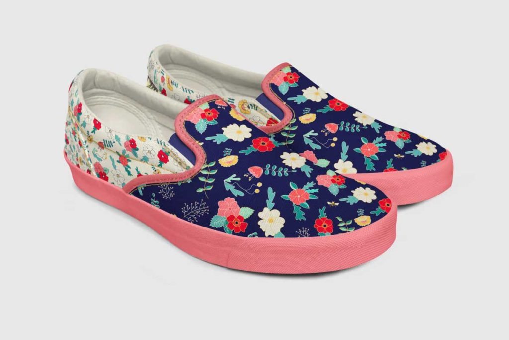 MATS Bootcamp Flower Shoes | Lindsay Goldner - No Fonts Given Co