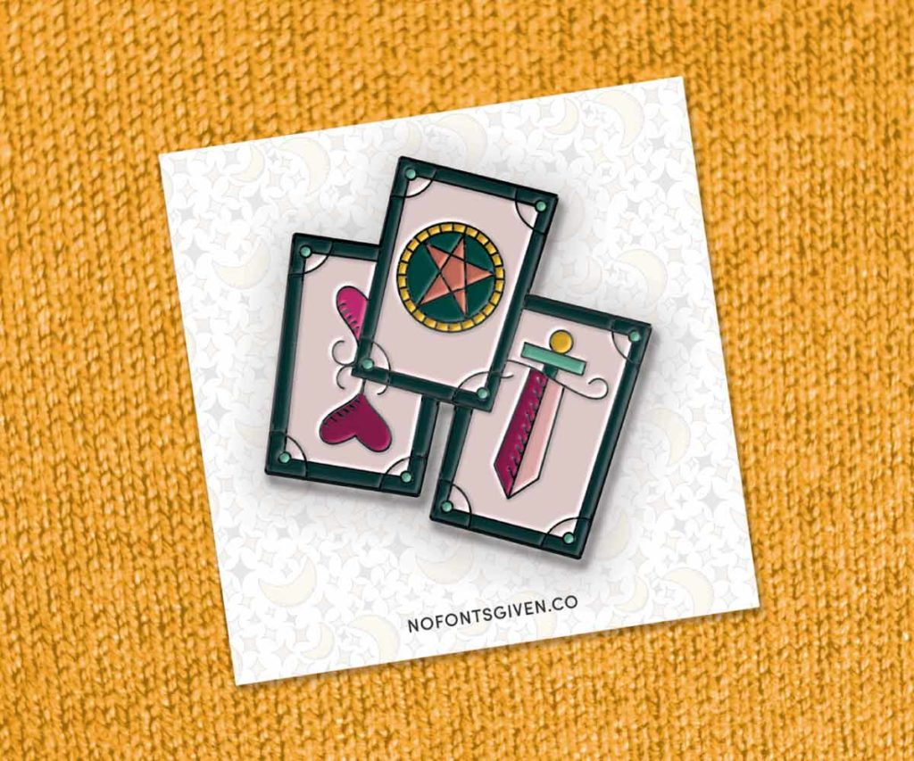 MATS Bootcamp Future Pin | Lindsay Goldner - No Fonts Given Co
