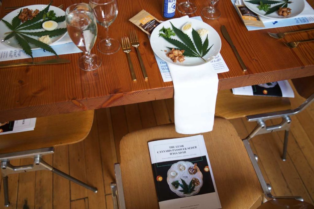 Le'Or Cannabis Seder Table | Lindsay Goldner - No Fonts Given Co
