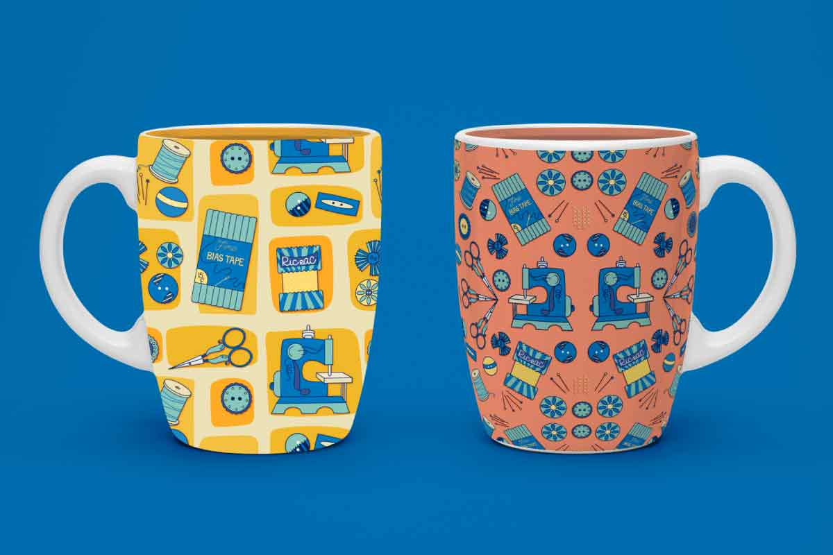 MATS Bootcamp Sewing Mugs | Lindsay Goldner - No Fonts Given Co