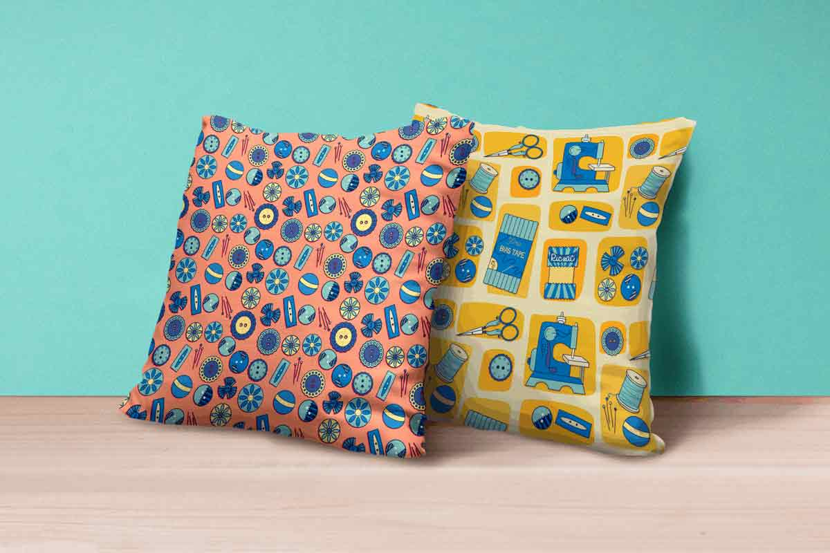 MATS Bootcamp Sewing Pillows | Lindsay Goldner - No Fonts Given Co