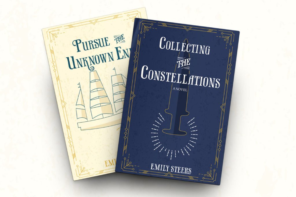 Emily Steers Book Cover Design   Lindsay Goldner - No Fonts Given Co