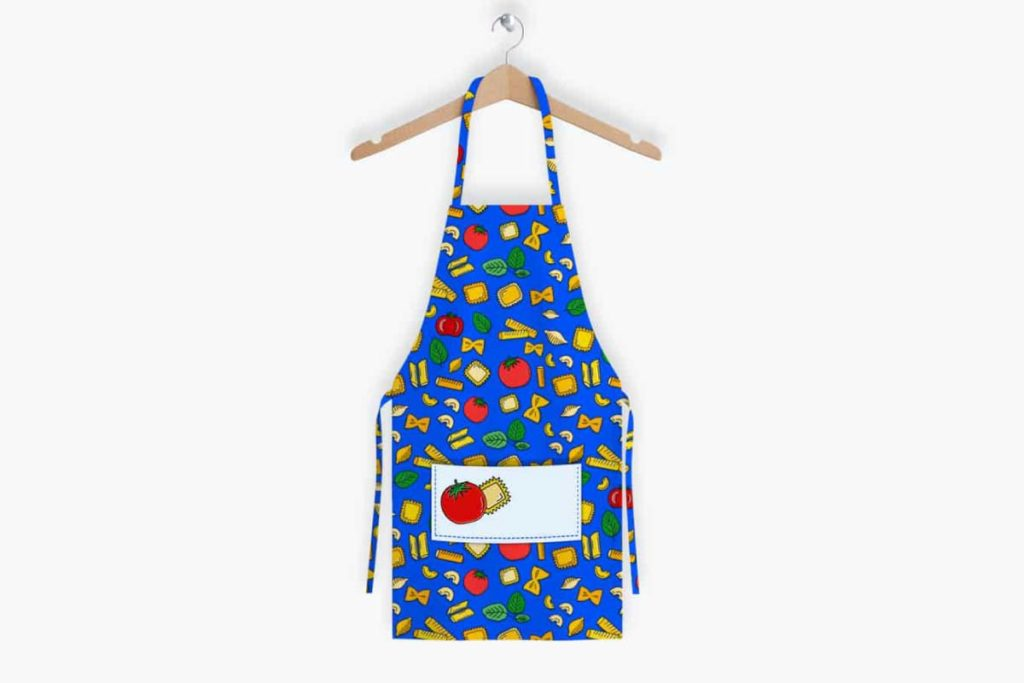 Nothing Is Impastable Pattern – Apron Design | Lindsay Goldner - No Fonts Given Co