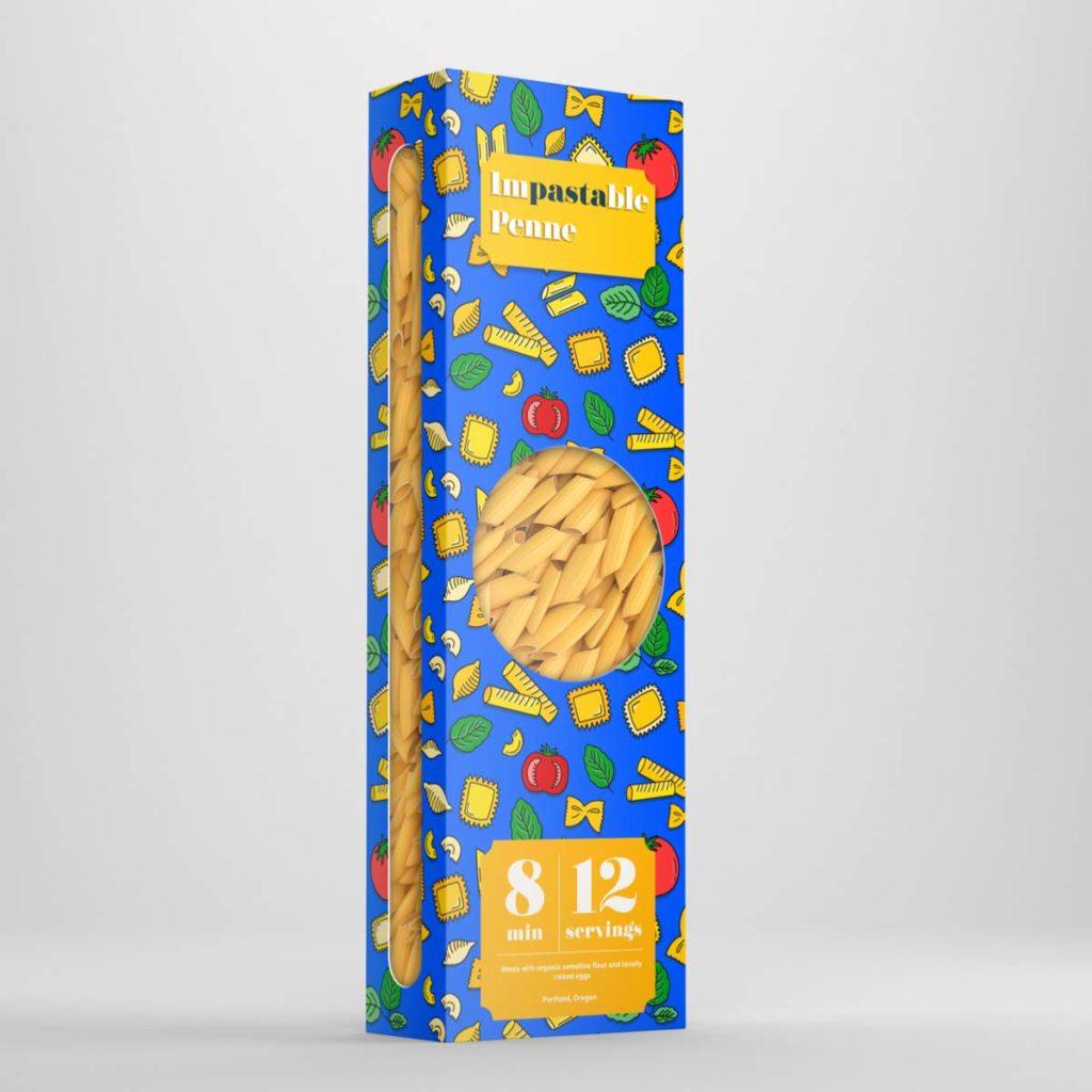 Nothing Is Impastable Pattern –Box Design   Lindsay Goldner - No Fonts Given Co