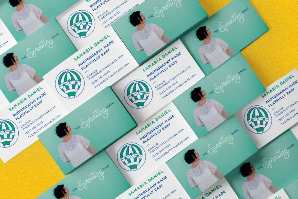 The Sprouting Image Branding and Web Design | Lindsay Goldner - No Fonts Given Co
