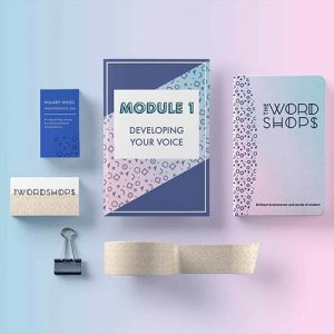 Wordshops Branding and Course Design | Lindsay Goldner - No Fonts Given Co